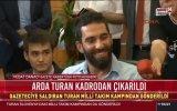 Fatih Terim'in Arda Turan'ı Göndermesi