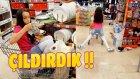Alışveriş Arabasıyla Market Nasıl Yıkılır? 100 Liralık Slime Alışverişi