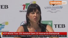 ATP World Tour 250 Antalya Open 25 Haziran'da Başlayacak