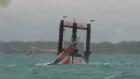 Yelken Yarışında Korkunç Kaza!