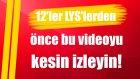 12'ler LYS'lerden Önce Bu Videoyu Kesin İzleyin! (Gri Koç)