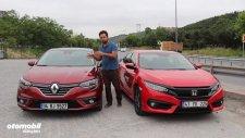 Honda Civic vs Renault Megane - Yerli Üretim Sedan Karşılaştırması