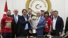 Göztepe'den Başbakan Yıldırım'a Ziyaret