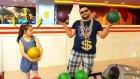 Hediye Alma Cezalı Bowling Challenge  !!  Yine Olanlar Oldu