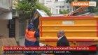 Küçük Efe'nin Okul Sırası Karne Gününde Karanfillerle Donatıldı