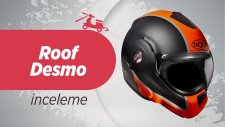 Roof Desmo Kask İnceleme |  Roof Desmo Motorcycle Helmet Review