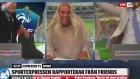 İsveç'in Son Dakika Golüne Yorumcuların Çılgınca Sevinmesi