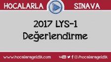 2017 LYS-1 (Matematik) Değerlendirme
