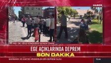 Ege Denizi'nde 6.2 Büyüklüğünde Deprem Meydana Geldi