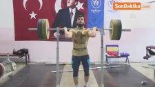 Genç Erkek Halter Milli Takımı 77 Kilo Sporcusu Erdoğdu