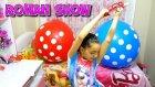 Kızlar Balonu VS Erkekler Balonu Patlattık !! Melikeden Roman Dans Show
