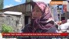 Yatalak Yaşlı Kadını Yanmaktan Son Anda Komşuları Kurtardı