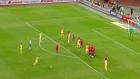 Bogdan Stancu'dan kusursuz frikik golü