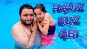 Açık Havuza Geldik Ama Havuz Buz Gibi Tir Tir Titredik !!!