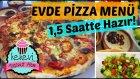 Evde Pizza Menü ( Domates Çorbası, Salata, Sütlaç) / Ayşenur Altan Yemek Tarifleri