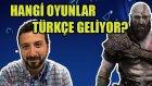 Hangi Ps4 Oyunları Türkçe Gelecek? God Of War Ne Zaman Çıkıyor?