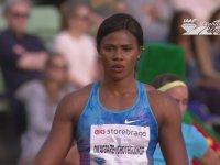 Uzun Atlamada Peruğu Düşen Nijeryalı Atlet