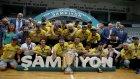 Fenerbahçe 2016 - 2017 Sezonu Basketbol ligi Şampiyonluk Kupa Töreni