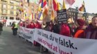 Protests Against Darai Lama Suppressing Shugden