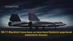 Füzelerin Yetişemediği Uçak - SR71 Blackbird