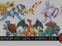 Pokemon 1. Jenarasyon (Kanto Adası) Pokemonları