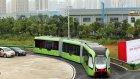 Dünyanın İlk Raysız Treni Saatte 70 Km Hıza Ulaşabilyor