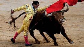 Matador İvan Fandino'yu Boğanın Öldürmesi