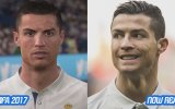 Cristiano Ronaldo'nun FIFA 2000'den FIFA 17'ye Değişimi