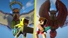 Melek Vs Şeytan - Minecraft Çüksüzü Kurtar #31 - minecraftevi
