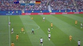 Avustralya 2-3 Almanya (Maç Özeti - 19 Haziran 2017)