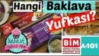 Hangi Baklava Yufkası Daha İyi? BİM & A101 / Burma Baklava Tarifi İle | Ayşenur Altan