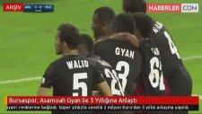 Bursaspor, Asamoah Gyan ile 3 Yıllığına Anlaştı