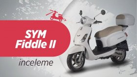 SYM Fiddle 2 125 İncelemesi