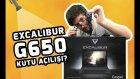Tasarım Dersi Veren Oyuncu Notebook'u - Excalibur G650 Kutusundan Çıkıyor!