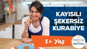 Çocuklar İçin Şekersiz Kayısılı Kurabiye (1+Yaş Tüm Aile İçin) | İki Anne Bir Mutfak