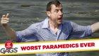 Sağlıkçıların Hastayı Havuza Fırlatması