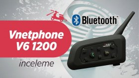 Vnetphone v6 1200 Bluetooth İnterkom İnceleme | BTI V6 1200 Motorcycle interkom