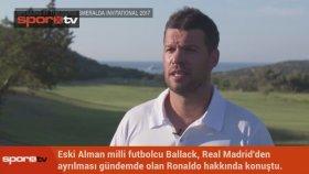 Ballack: Ronaldo'yu başka takımda düşünemiyorum