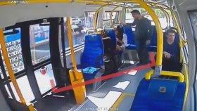 Minibüste Şortlu Kıza Saldırı Anı