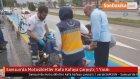 Samsun'da Motosikletler Kafa Kafaya Çarpıştı: 1 Yaralı