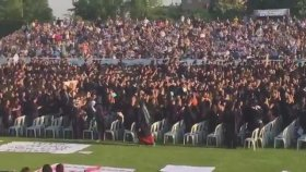 Boğaziçi üniversitesi, sırt dönme protestosu