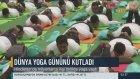 Dünya Yoga Günü Hindistan'da Kutlanması