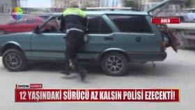 12 Yaşında Polisten Arabayla Kaçan Çocuk
