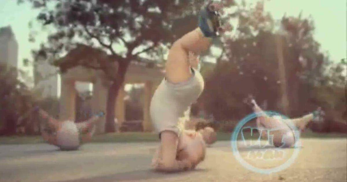 Gangnam style babies dance
