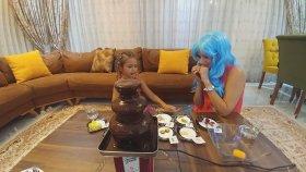 Çikolata Şelalesi Challange - Prenses Elif