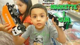 Hastane Çıkışı Kardeşim Ve Annemle Markette Alışveriş Yapıyoruz !!