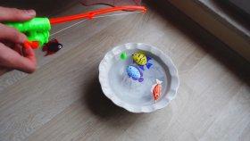 Mıknatıslı Balık Tutma Oyunu - Kırmızı Balık