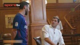 İranlı Messi, Casillas ile buluştu!