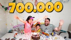 700.000 Abone Kutlaması Herkese Çok Teşekkürler İyiki Varsınız !!