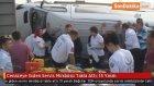 Cenazeye Giden Servis Minibüsü Takla Attı: 15 Yaralı